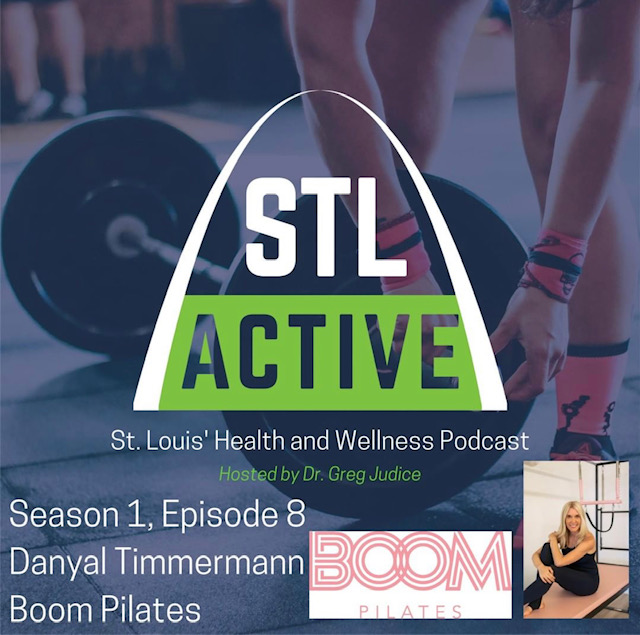 Poster of STL Active Podcast Season 1 Episode 8, featuring Danyal Timmermann